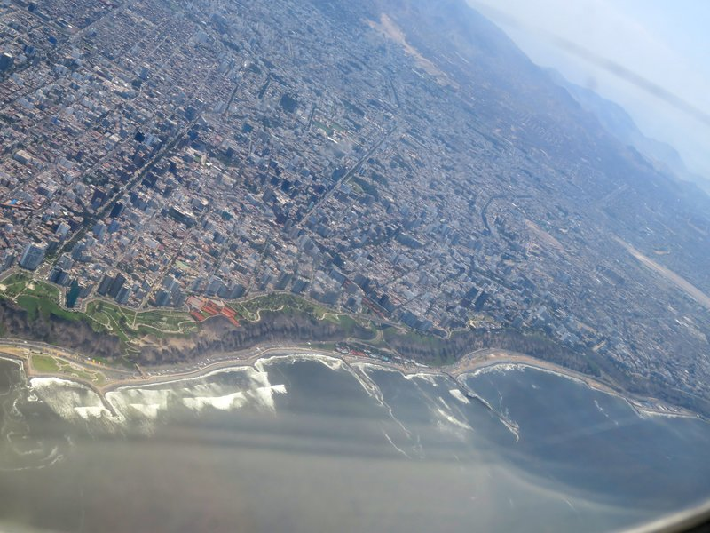 Lima from the air
