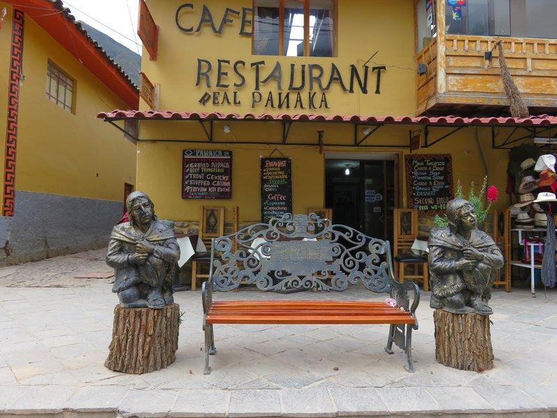 Ollantaytambo garden seats