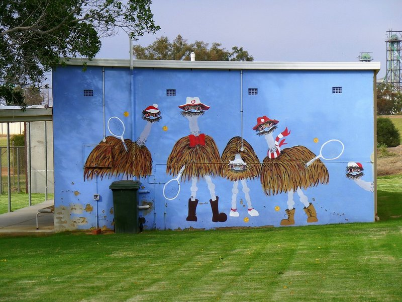 The Emus Mural
