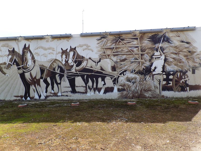 Draught Horse Mural