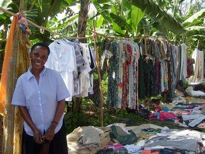 Ssanje clothes market