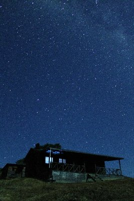 Cabin and Stars