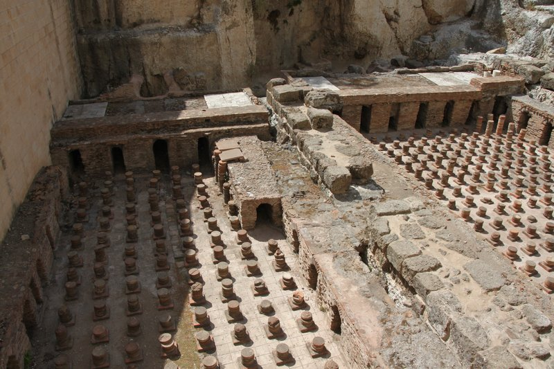ROMAN BATHS IN BEIRUT
