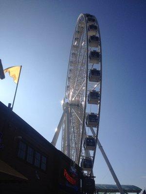 Waterfront Ferris wheel