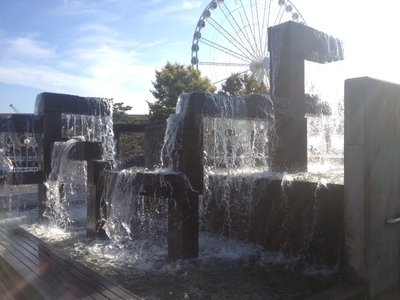 Fountain at the Waterfront