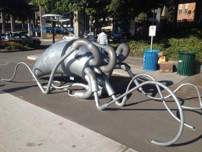 Squid sculpture