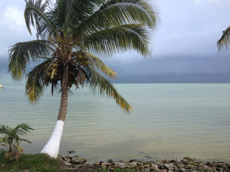 Waiting for the boat to Belize