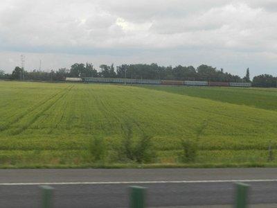 Felder in der Nähe von Slobozia