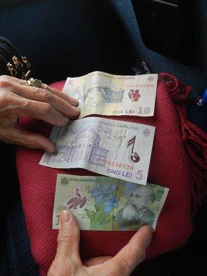Lei, die rumänische Währung