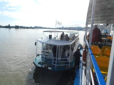 Ausflugsboot ins Donaudelta