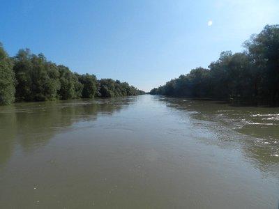 Auf dem Kanal Meile 35