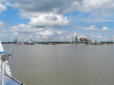 Ukrainische Hafenstadt Reni