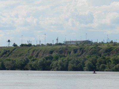 Grenzstation Giurgiulesti in Moldawien