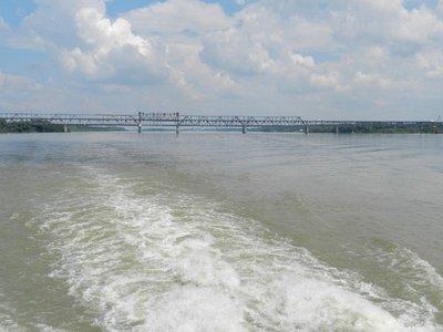 Brücke der Freundschaft zwischen Rousse und Girgiu