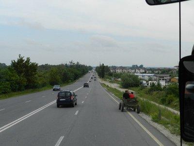 Schnellstraße nach Bukarest