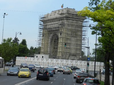 Triumphbogen, Bukarest