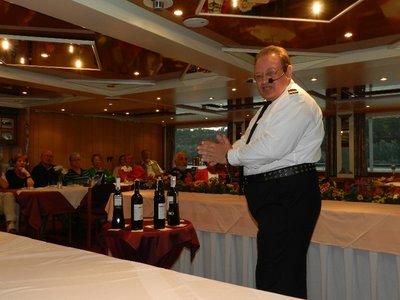 Weinverkostung mit Hotelmanager Alexander König