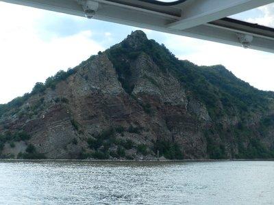 "Unter dem roten Felsen liegt das ""Eiserne Tor"""