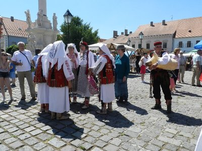 Folkloredarbietungen in Osijek