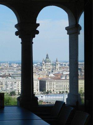 Blick auf den Stephansdom, Budapest