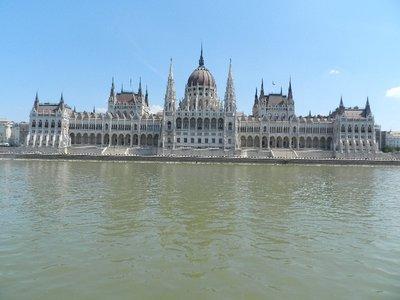 Parlamentsgebäude in Budapest