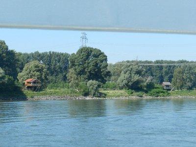 Fischerhütte in der Lobau