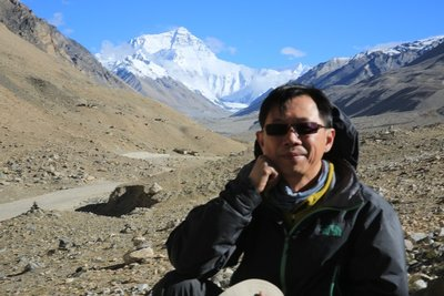 On way to Everest Base Camp