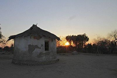 Sunset in Madagombe