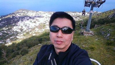 selfie island of capri