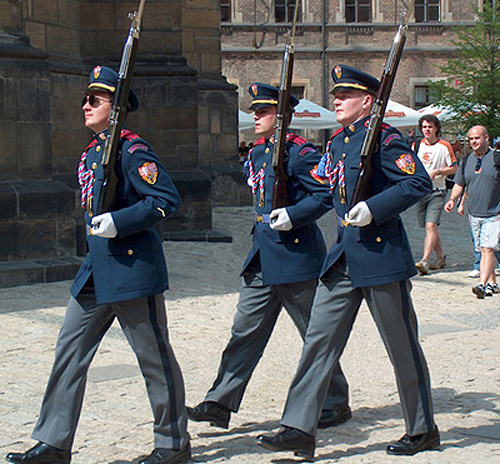 Palace Guards, Prague