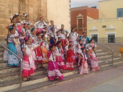 Campeche Church Girls
