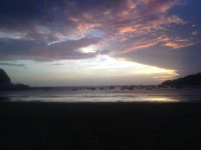 San Juan Del Sur Pink Sky