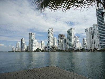 skyline in Boca grande