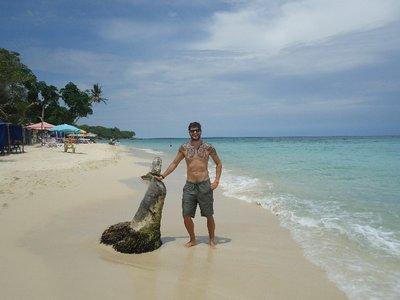 Happy gringo in Playa blanca ;)