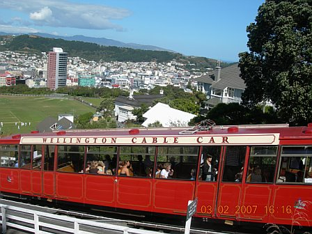 wellington's iconic cable car!