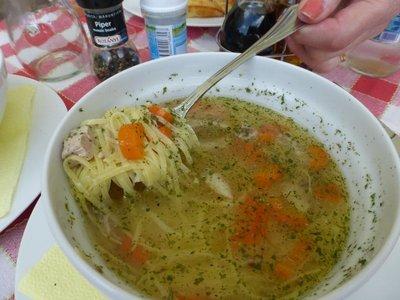 Bernie's chicken noodle soup