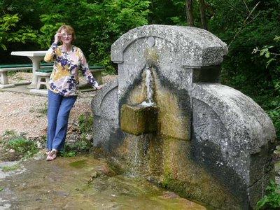 Cetina fountain