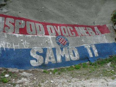 Cetina river grafitit