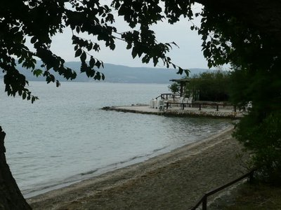 Sandy beach near Omis