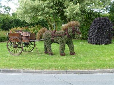 horse roundabout