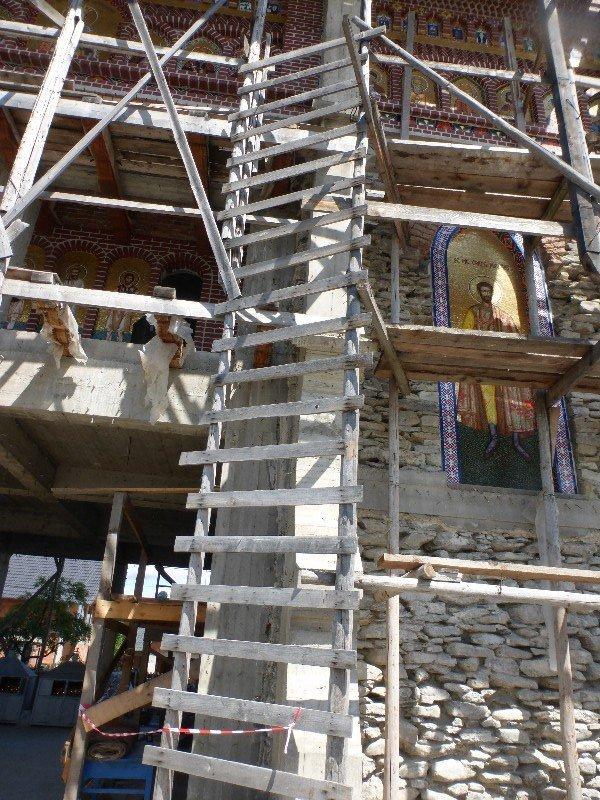 Happy Cemetery scaffold