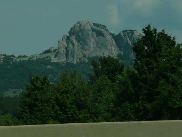 Mountain peaks Croatia