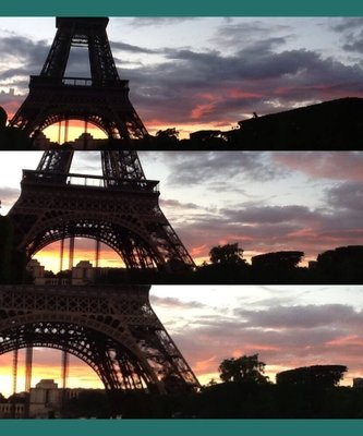 Eiffel Collage