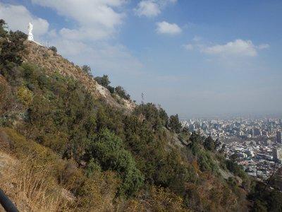 Santiago lookout ascent
