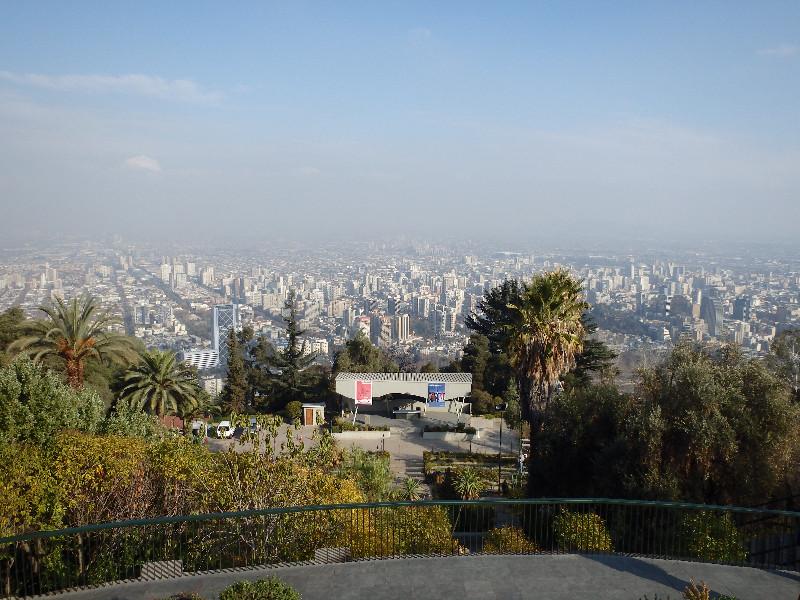 Santiago lookout