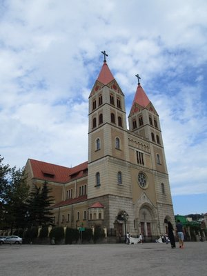 Die Sankt-Michael-Kirche.