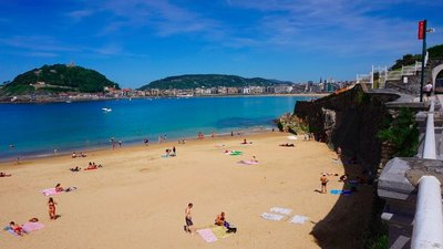 Day 10 - Sunday 10th May - Vielle St.Girons to San Sebastian
