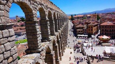 Day 15 - Friday 15th May - Valladolid to Segnovia to Avila