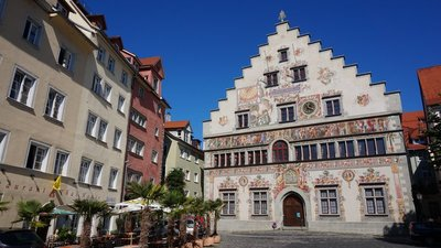 DAY 122 - Sunday 30th August - Lindau to Insel Mainau to Bingen to Triberg