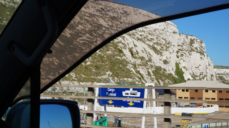 DAY 155 - Friday 2nd October - Isques to Calais to Dover to Aylesbury